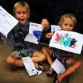 Khai and Bonni suprised the boys with a letter posted to Torquay they were stoked!